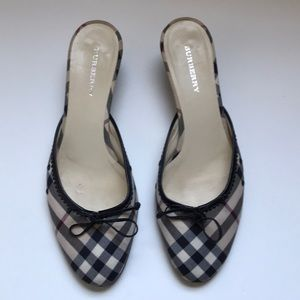 100% Authentic Burberry Mules